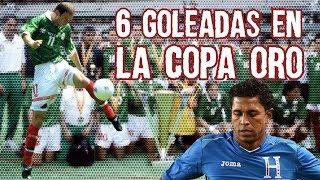 6 Golizas Escandalosas en la Copa Oro, México el más Goleador, Boser