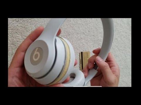 QUICK FIX to PEELING LEATHER on BEATS headphones