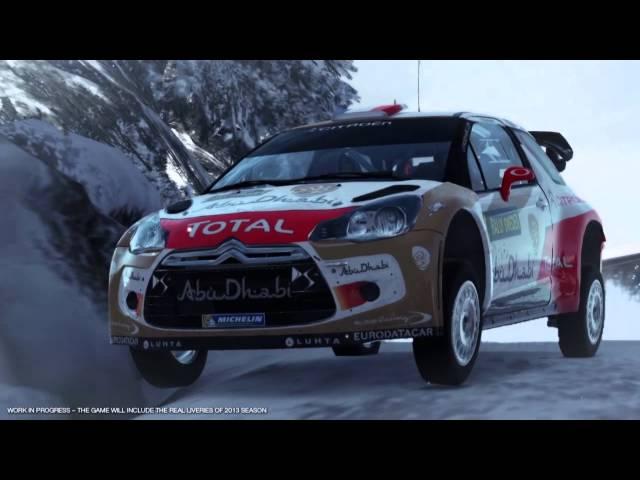 WRC 4 Trailer 1 - Rally Sweden