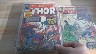Vintage Silver Age THOR Comic Book Lot! Journey into Mystery!