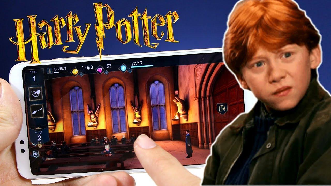 Nuevo Juego De Harry Potter Para Android Descargar Apk De Hogwarts