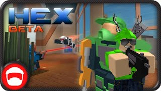 Roblox Gameplay Commento - Hex - Premier Arena Shooter! [Beta]