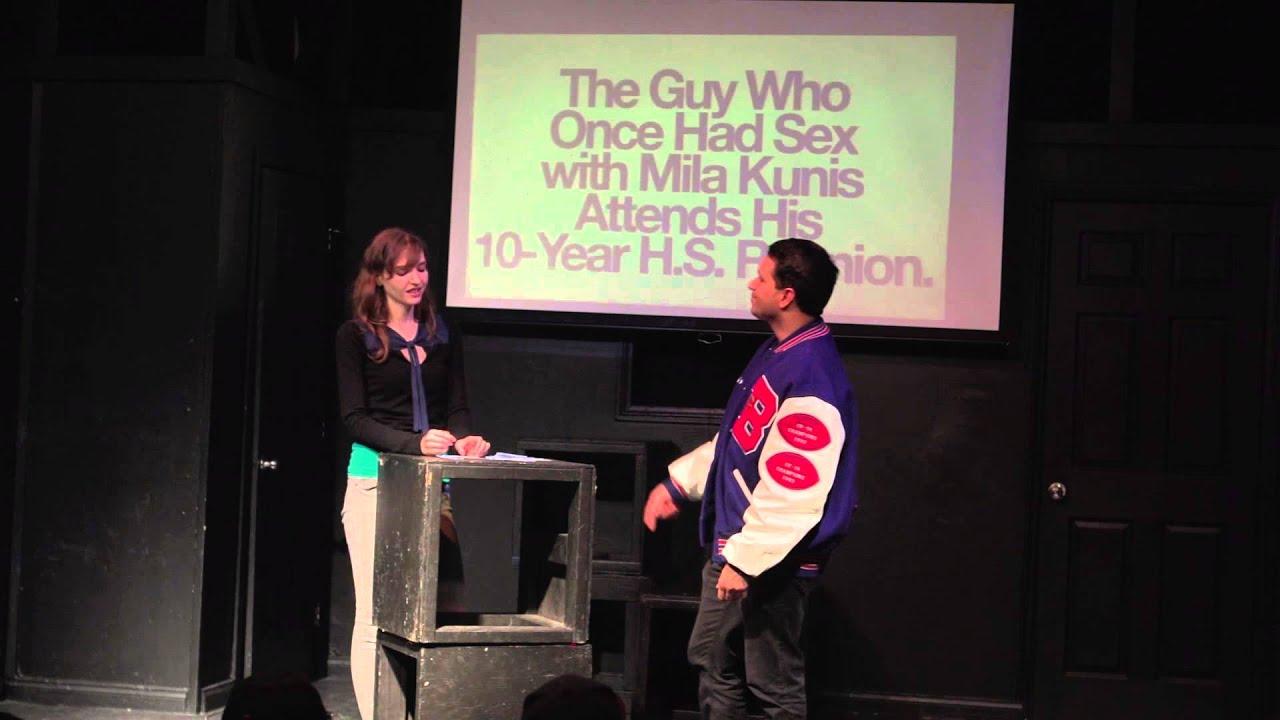 High school reunion sex