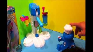 Play Doh  Ice Cream Set Unboxing Yami Soup to give to Cookie Monster Googoo Gaga & Spiderman 2   You Thumbnail