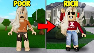 I Helped Her Go From POOR to RICH! What Happened Will Shock You! ( Roblox Bloxburg)