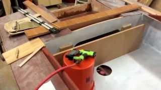 Boat Building Progress: Trim Work, Seating, Splash Well Venting