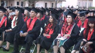 VIDEO: San Diego State University-Imperial Valley campus students graduate