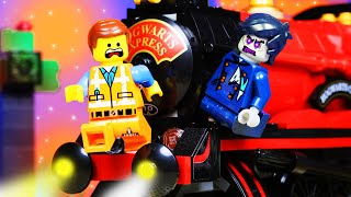 Lego Movie 2 Train Zombie Parkour Fail | Toy Animation