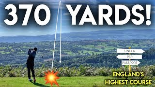 SMASHING THE BALL 370 YARDS!! Playing at the highest course in England - Brought to you by BMW