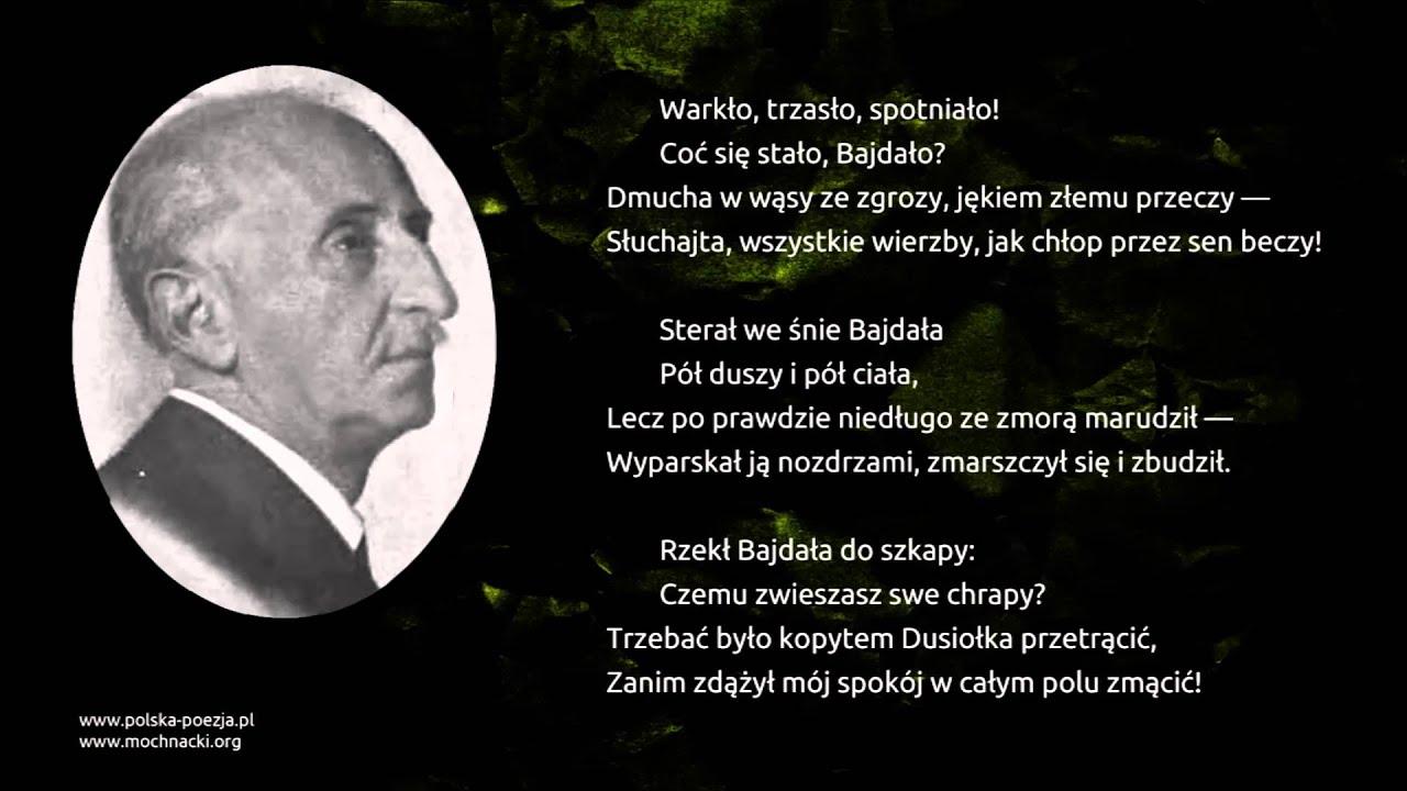 Bolesław Leśmian Dusiołek Youtube