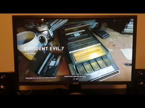Resident Evil 7 PC Keyboard and Mouse Fix