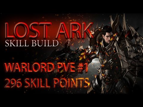 Lost Ark. Warlord PVE - #1 Build. 296 SP \ Страж PVE билд #1. 296 скилл-поинтов
