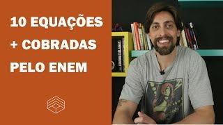 10 fórmulas de física mais cobradas no ENEM | Vlog #24 | ENEM 2018