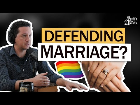 Why Doesn't the Catholic Church Support Gay Marriage? W/ Trent Horn