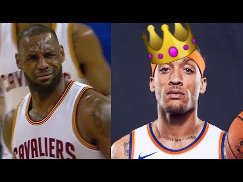 "😂 Michael Beasley Thinks He's the GOAT: ""I Match Up with KD & LeBron"""