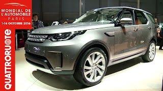 La nuova Land Rover Discovery presentata al Salone di Parigi | Quattroruote
