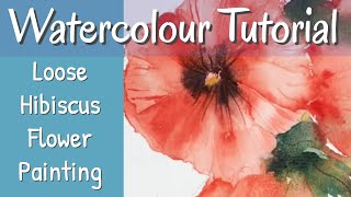 How To Paint Flowers In Watercolour With Tips On Colour Mixing & Brushwork