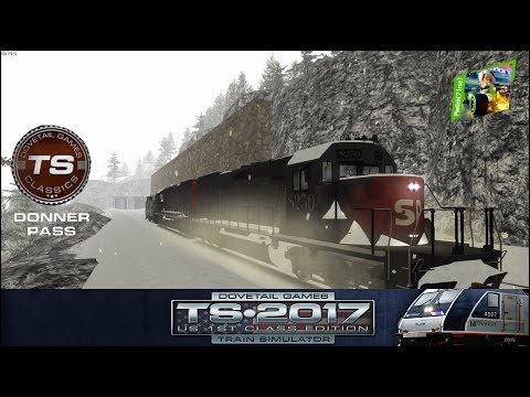 TS2017 - #2 - Donner Pass: Southern Pacific Route Add-On - Cold Play 1/4