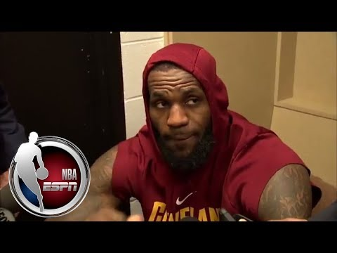 LeBron James talks about the Cleveland Cavaliers' continued struggles | NBA on ESPN