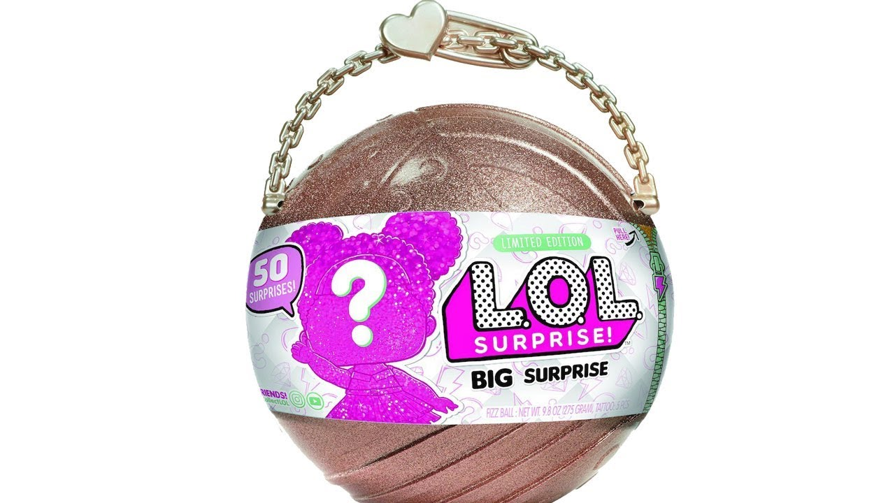 Lol Surprise Big Surprise Doll Limited Edition Ball 50 Surprises New Authentic