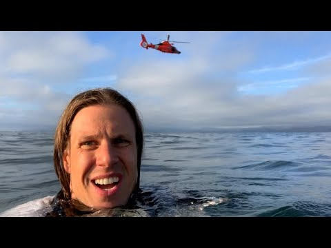 Big Rig - Pilot Records Selfie After Crashing Plane In Pacific Ocean