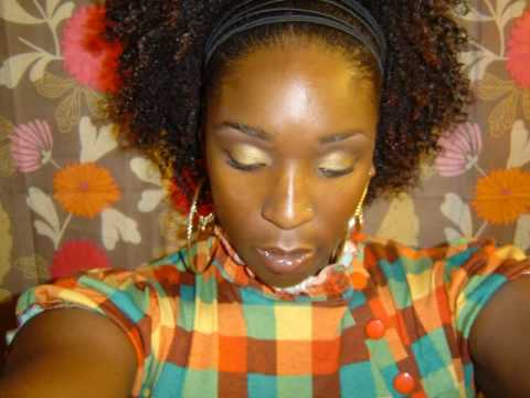 Natural Hair Winter Protective Style Using A Curly Half