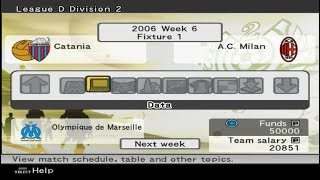 Pro Evolution Soccer 6 - 2006 - Master League A.C. Milan Part 1 (PC)