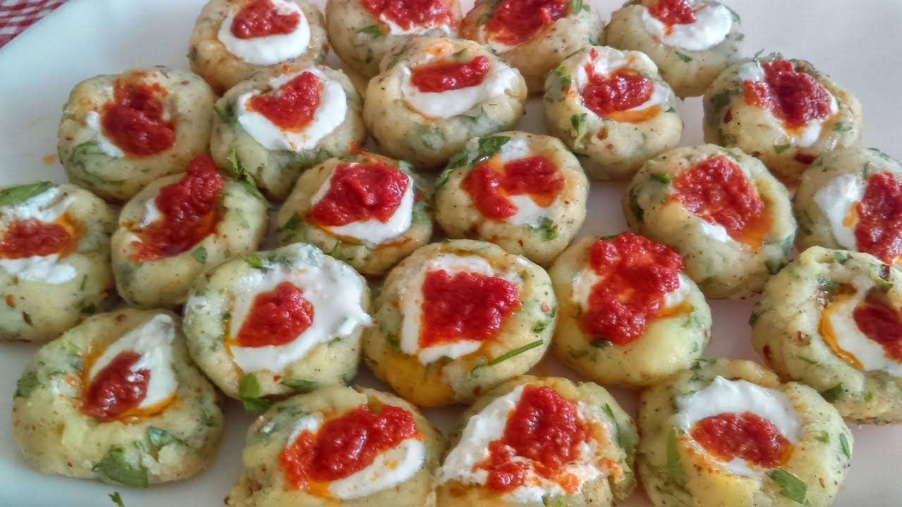 Patates mantısı tarifi – Kolay sarımsaklı yoğurtlu patates mantısı nasıl yapılır – Mantı tarifleri