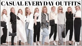 How To Style wİth Basics! Everyday Casual looks