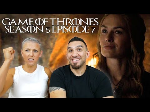Game of Thrones Season 5 Episode 7 'The Gift' REACTION!!