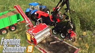 #109 - ANDIAMO A TAGLIARE LA LEGNA - FARMING SIMULATOR 19 ITA RUSTIC ACRES