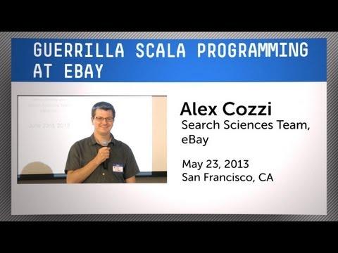 Guerilla Scala Programming at eBay