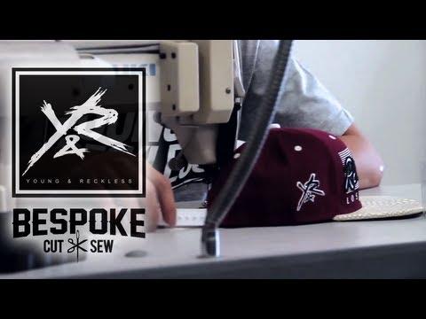 92ca37c2 How to Customize a Snapback / Strapback (feat. Bespoke Cut & Sew) - YouTube