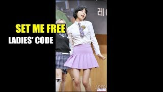 [Fancam, 4K] 레이디스 코드 (주니, LADIES' CODE) - SET ME FREE @ 1911…