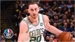 Gordon Hayward scores 30, Celtics blow out Warriors on the road | NBA Highlights