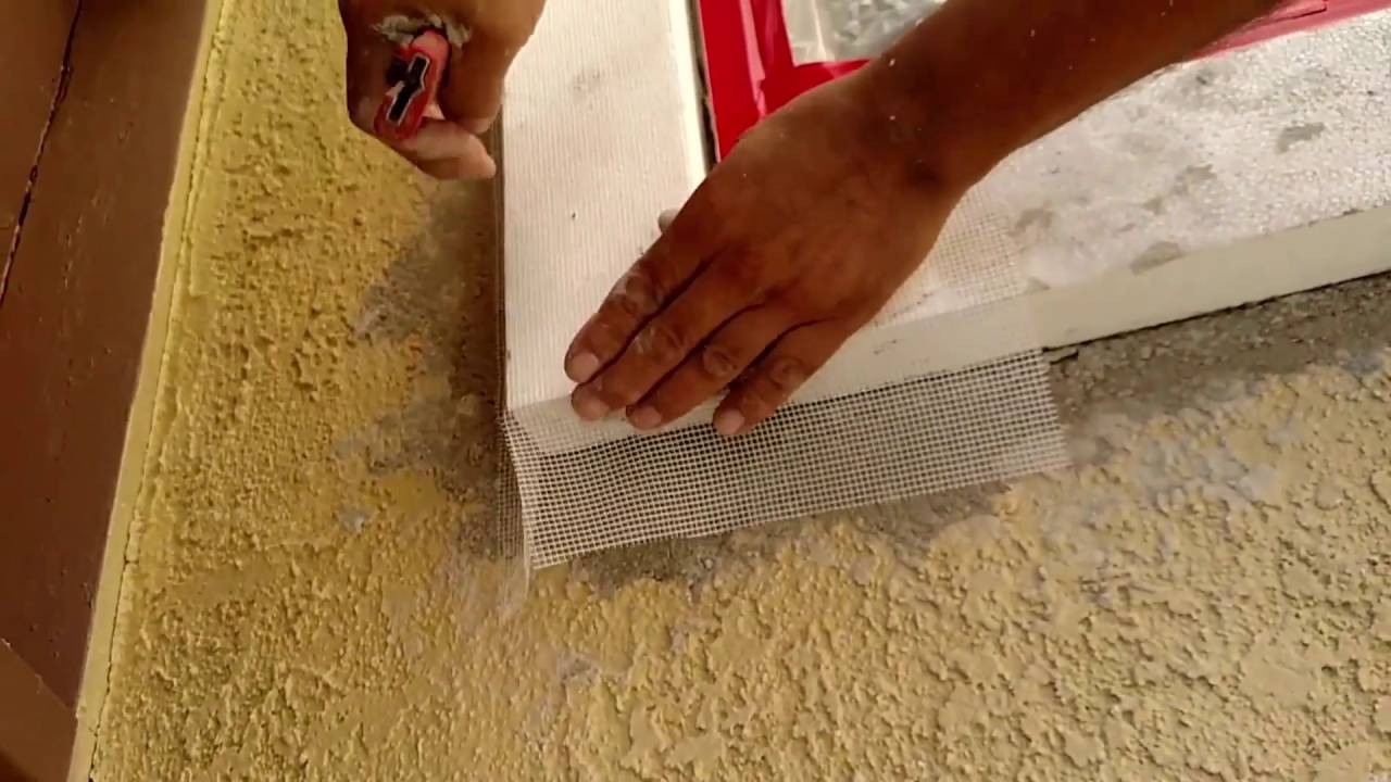 Synthetic stucco foam trim and pre loss condition youtube - Exterior decorative foam molding ...