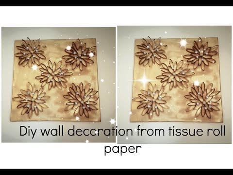 diy-wall-decor-ideas-from-tissue-roll-paper