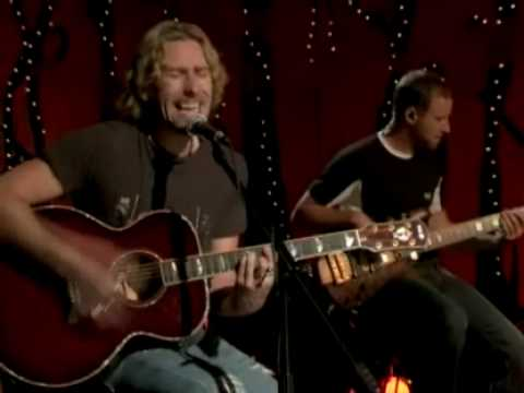 NICKELBACK PHOTOGRAPH BEST ACOUSTIC (Vh1 acouctic session 2005)