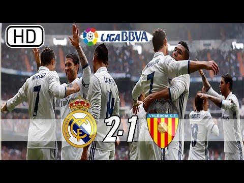 Download Real Madrid vs Valencia 2-1 - All Goals & Extended Highlights - La Liga 29/04/2017 HD