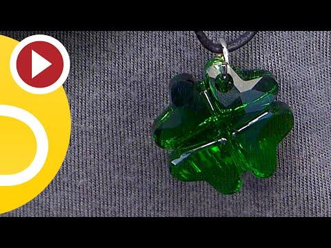 Idee! DIY Anleitung Halskette mit Swarovski Anhänger zum Selbermachen!