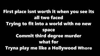 Machine Gun Kelly - Hollywood Whore ( Lyrics)