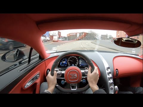 POV DRIVE in my BUGATTI CHIRON through Birmingham!