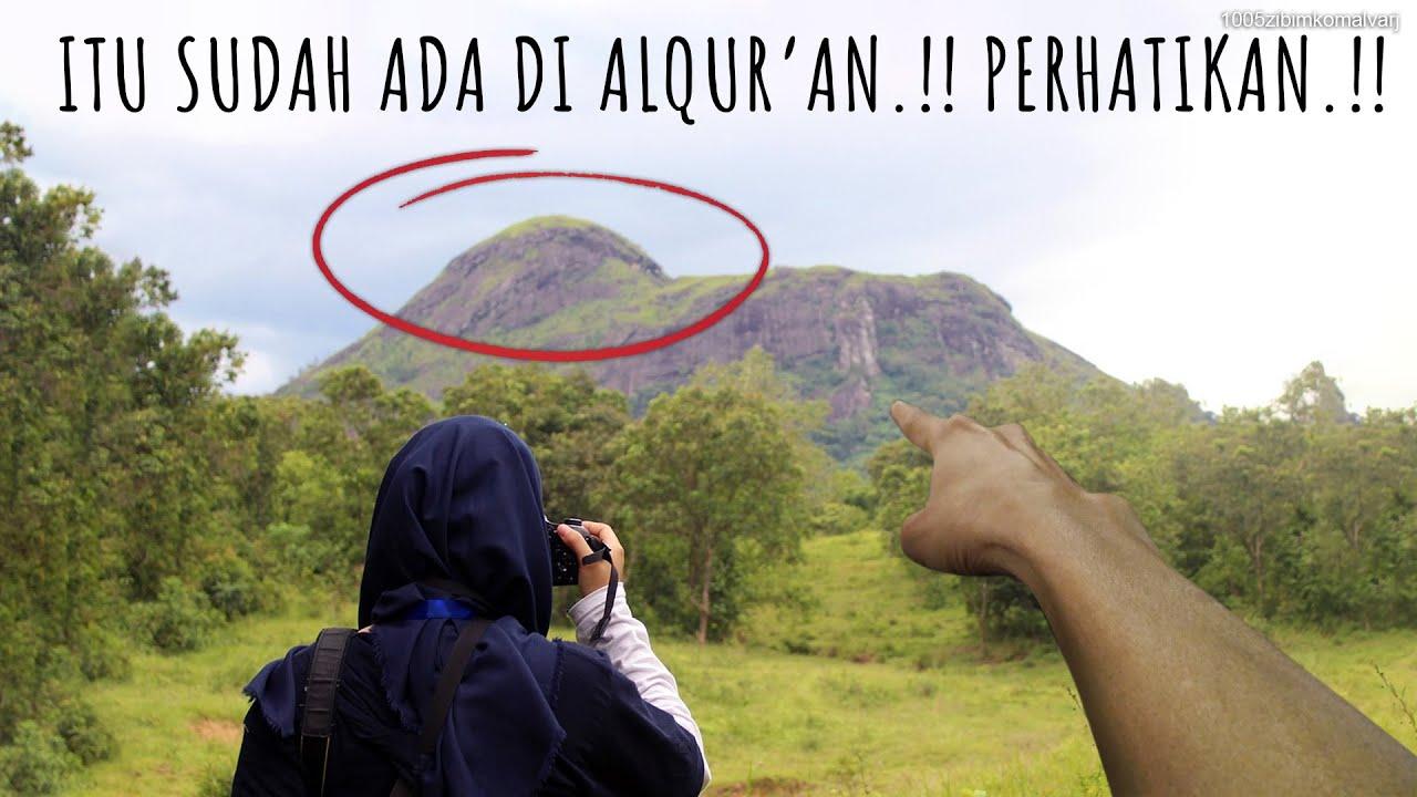 MUSLIM PASTI KAGET..!! Ketika Baru Mengetahui Kebenaran Tentang Gunung Yang Ada Di Al Quran ini