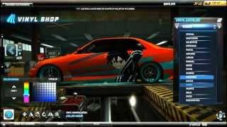 Need For Speed World Anime Art Vinyl Special tutorial: Lexus IS300 Kirito Sword Art Online
