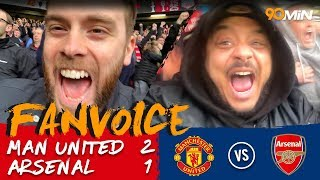 Man United 2-1 Arsenal | Fellaini late goal secures Man United 2-1 win v Arsenal! | FanVoice