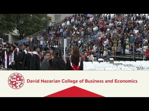 CSUN Commencement 2018: Nazarian College of Business and Economics