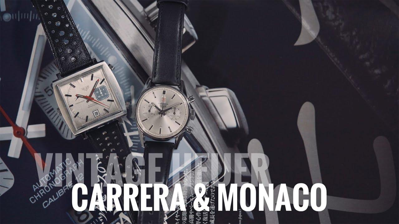 【專家談錶】說古董錶的故事!TAG HEUER泰格豪雅Carrera & Monaco重點款介紹
