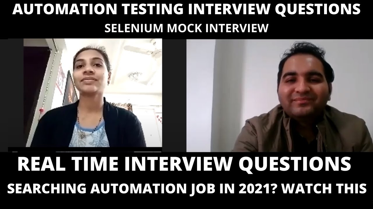 Download Automation Testing Interview Questions| Selenium Interview Questions| 0-2 years