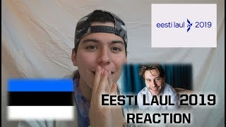 Eurovision 2019 - Eesti Laul 2019 - Quinto Reaction & Review