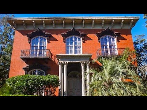 Mercer House Savannah Georgia Youtube